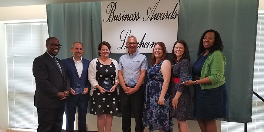 Energy Select Receives Chamber's 2019 Beacon Award